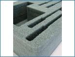 Schaumeinsätze für Aluminium Transportboxen