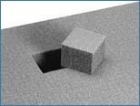 Würfelschaum-Set für Aluminium Transportboxen