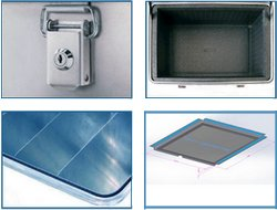 Aluminium box - accessories