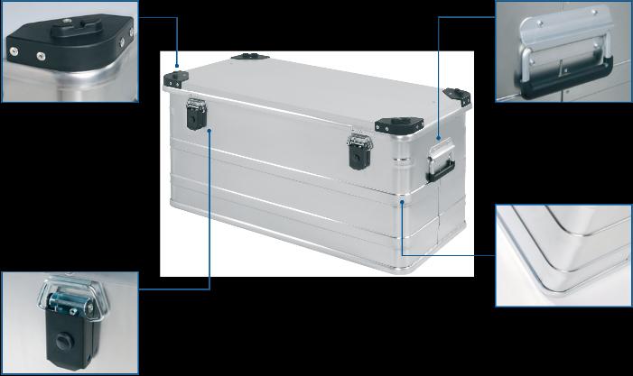 Transportkiste - Universal-Box DL 540 Vorderansicht