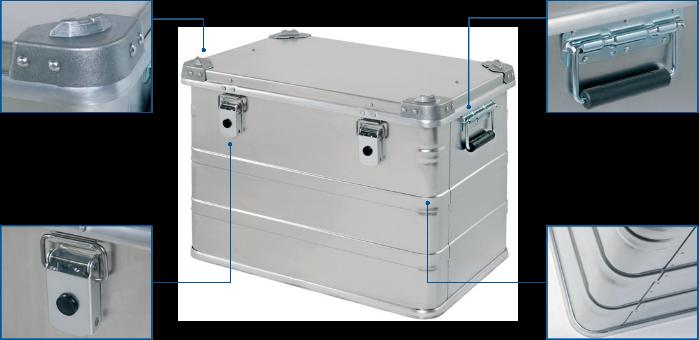 Alukiste - Abwehr Box NA 740 Vorderansicht