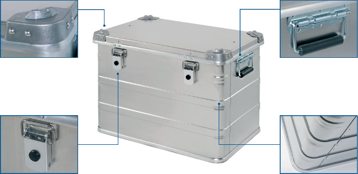 Alubox - Defence Box NA 740 front view