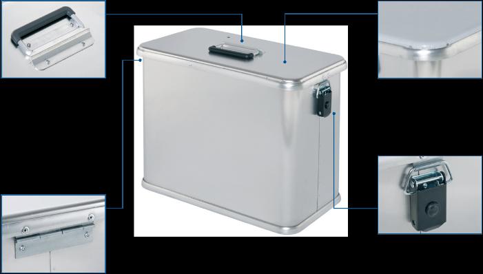 Pannier box - CM 445 Moto Box