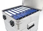 Aluminium Archivierungsbox - BB 345 Office Box mit Ordners