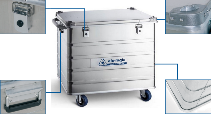 Alubox - Transport Box Trolley
