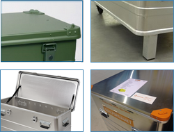Options of aluminium boxes