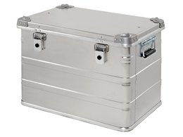 Alubox - an ultimate storage box as multi-path packaging - returnable & reusable & recyclable